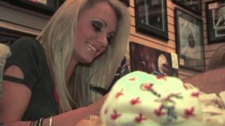 Playboy Playmates Holley Ann Dorrough & Cassandra Lynn Public Autograph Signing