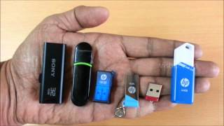HP x755w USB 3.0 Pen drive unboxing & quick review - 64gb flash drive