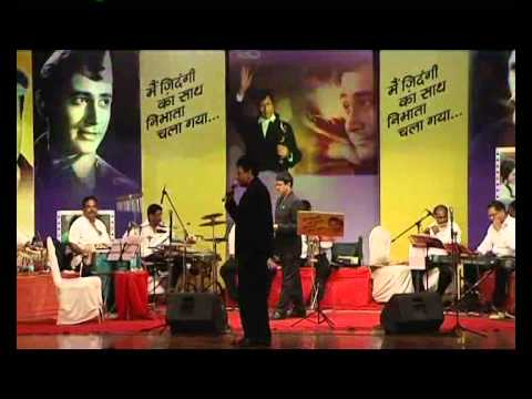 Shrikant Narayan - Tribute to Dev Anand...Main zindagi ka saath...