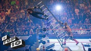 Download Scariest Superstar falls: WWE Top 10, Oct. 16, 2017 3Gp Mp4