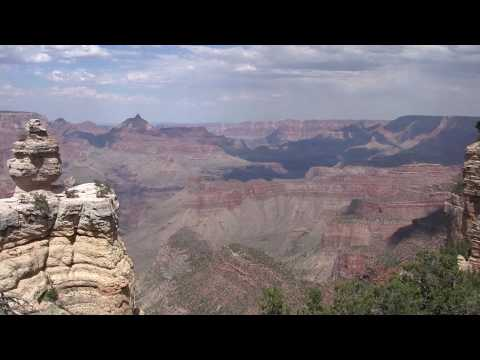 Grand Canyon South Rim, panomaric view in HD
