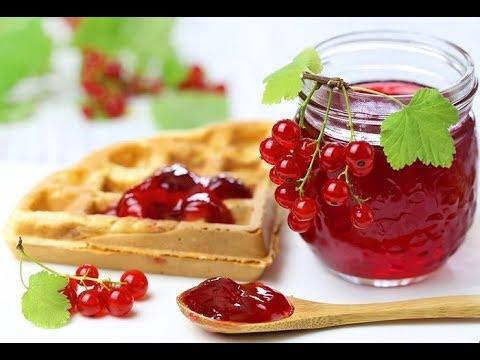 Варенье желе из красной смородины