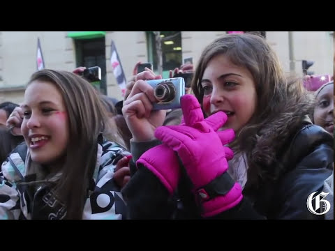 One Direction fans go crazy for the lads in Montreal