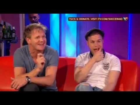 Olly Murs - Interview (UNICEF Soccer Aid 2012 Pre-Show)
