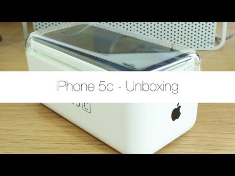 iPhone 5c Unboxing (White)