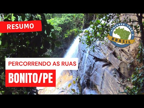 Viajando Todo o Brasil - Bonito/PE