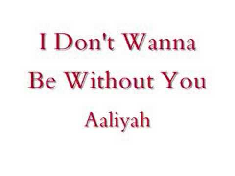 I Don't Wanna-aaliyah (lyrics) video