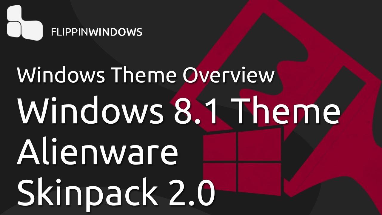 Alienware Icons For Windows 8 Windows 8.1 Theme | Alienware