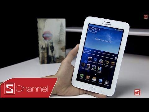 Schannel - Đánh giá chi tiết Galaxy Tab 3 Lite : Thiết kế tốt, hiệu năng trung bình - CellphoneS