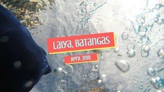 Laiya, Batangas 2018 | TRAVEL WITH KAE 💖