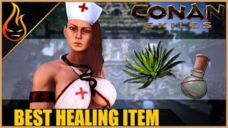 The Best Healing Item In Conan Exiles 2018 - Heal Faster