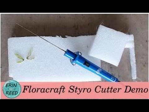Floracraft Styro Cutter / Heat Wand Demo
