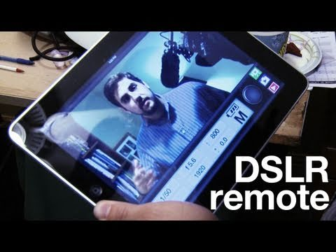 Remote iPad  DSLR Monitor - App Review - April Fools Day