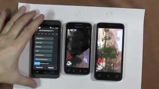Выбираем смартфон до 4500р - 2 часть сравнения. Samsung Alcatel Gigabyte