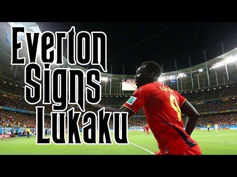 Romelu Lukaku Signs With Everton