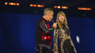 Taylor Swift Robbie Williams Angels Wembley Stadium Reputation Stadium Tour