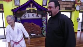 download lagu Tetsuhiro Hokama Demonstrates Karate To Steven Seagal gratis