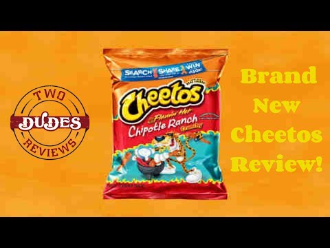 New - Cheetos Flammin' Hot Chipotle Ranch Crunchy Review