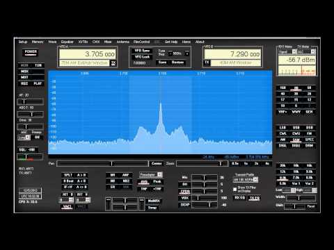 How does the TS-590S sound on AM? - W1AEX