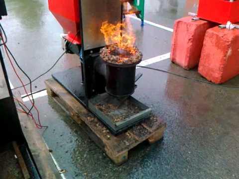 Горелка для сжигания опилок своими руками 3492