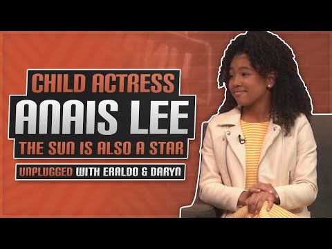 Child Actress Anais Lee Tells What It Was Like Behind The Scenes Of The Sun Is Also A Star