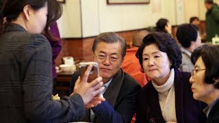 Moon's Beijing breakfast highlights global growth of Chinese mobile payments
