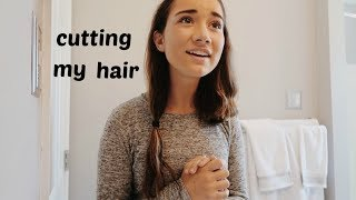 cutting my hair short!!
