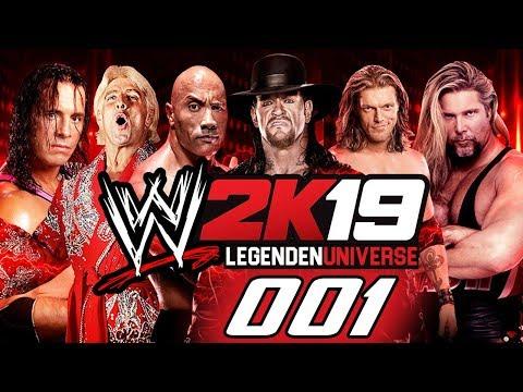 Das Legenden Universe | WWE 2k19 Retroverse #001