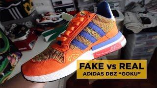 "REAL vs FAKE: ADIDAS DBZ ""GOKU"" ZX500 RM"