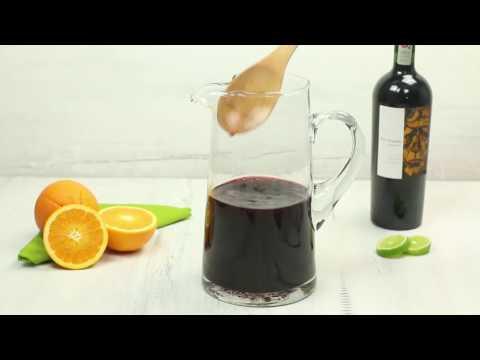 Cocteles con vino blanco y tinto