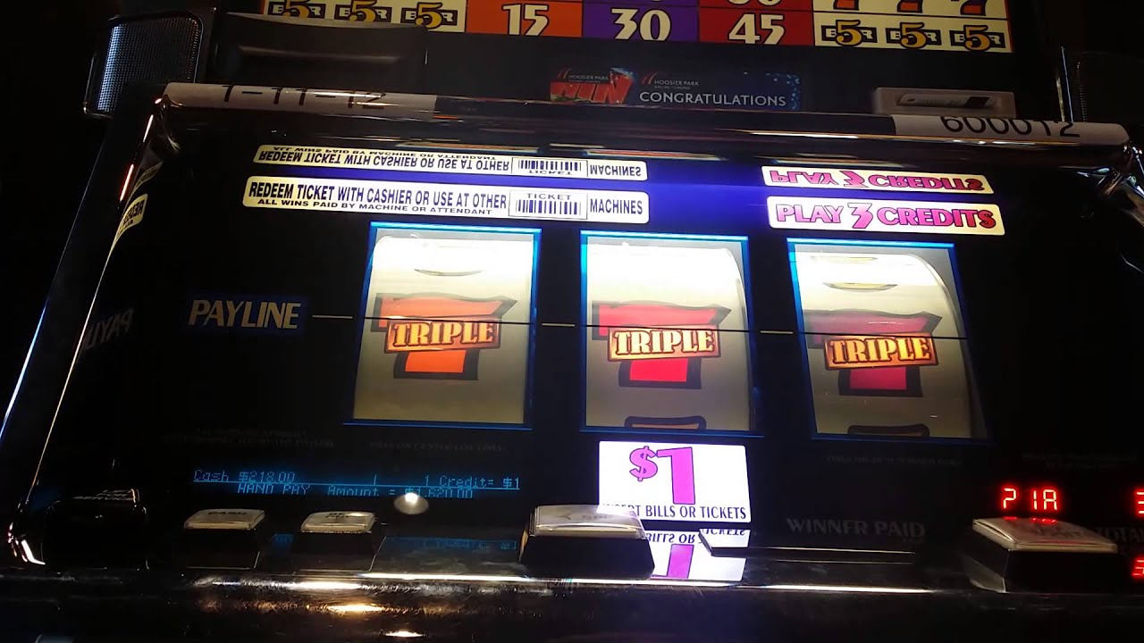 triple gold bars slot machine videos from foxwood