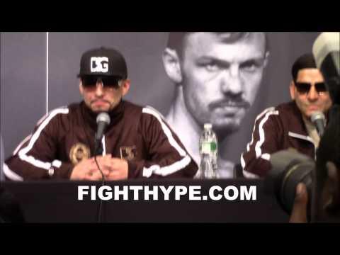 DANNY GARCIA VS. LAMONT PETERSON FULL POST-FIGHT PRESS CONFERENCE
