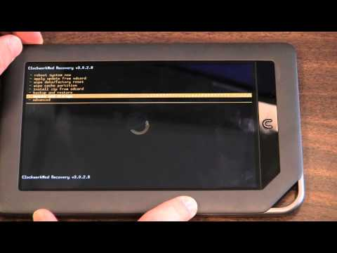 How to Root a Nook Color 1.2