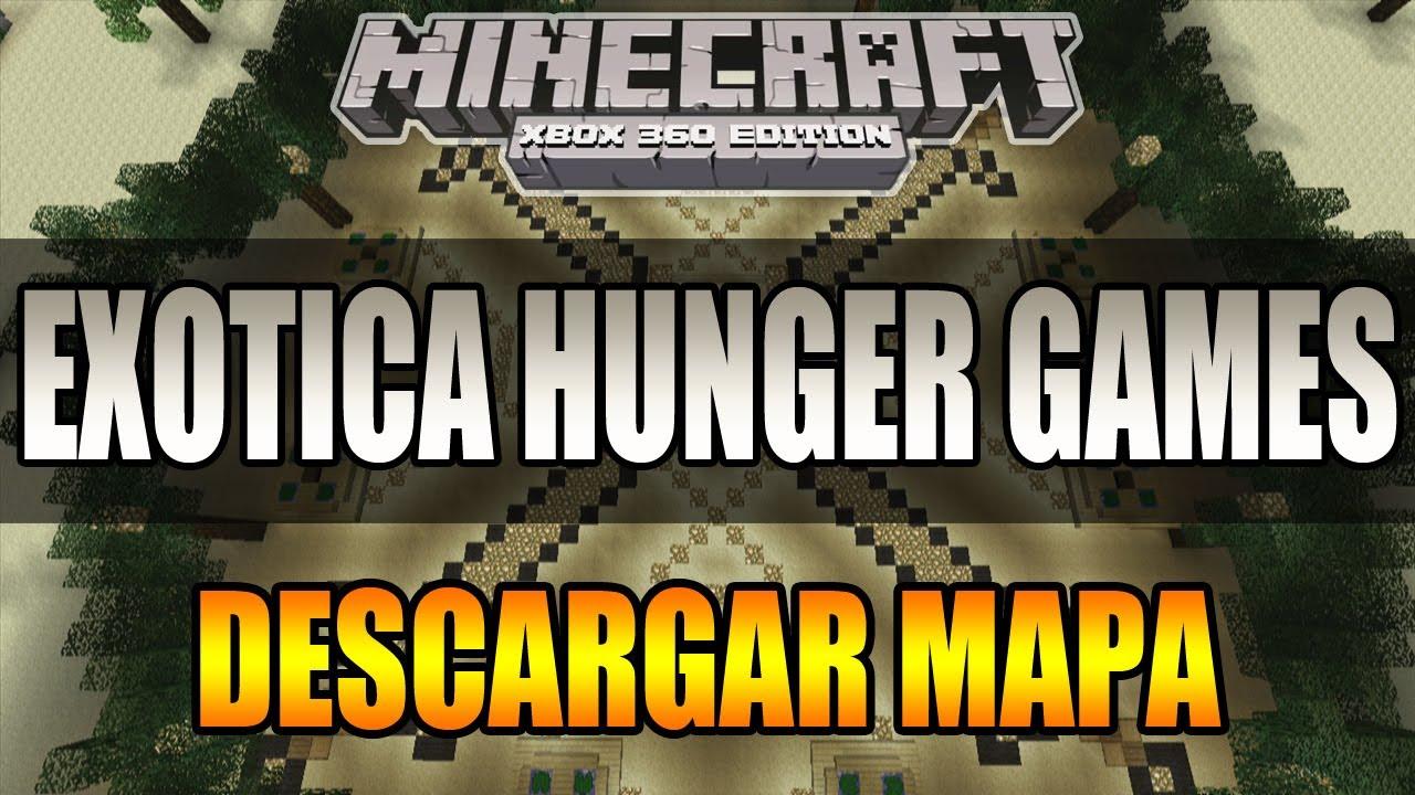 Xbox 360 Hunger Games : Minecraft xbox exotica hunger games descargar mapa