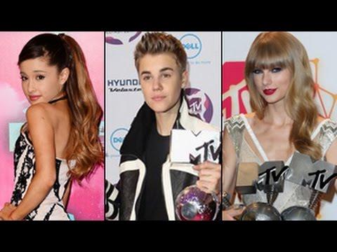MTV EMA 2014 Nominations - Justin Bieber, Ariana Grande, Taylor Swift, Eminem, Beyonce & More