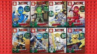 LEGO Ninjago Minifigures (knock-off) Sheng Yuan SY680