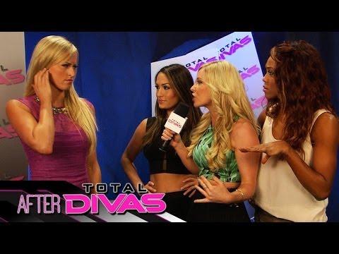 """Summer Rae crashes """"After Total Divas"""" - June 1, 2014"""