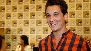 Miles Teller on Fighting Shailene, His Divergent Character, and Tank Tops | Comic-Con 2013