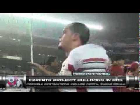 Fresno State Closing In On Bcs Bowl Youtube