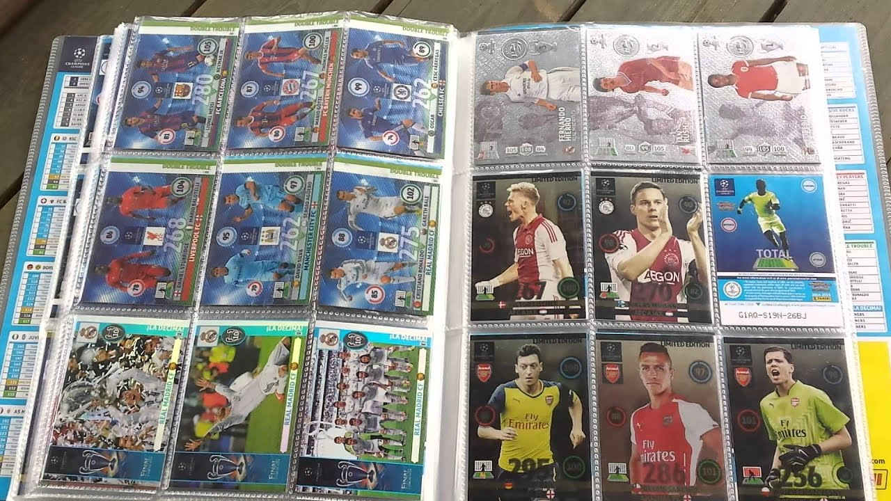 Champion League Cards 2014 Champions League 2014/2015