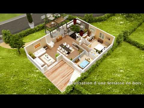 Agrandissement et rénovation d'une maison par Phénix Evolution - YouTube