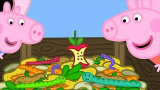 Peppa Pig Full Episodes | Grandpa's Compost Heap | Cartoons for Children