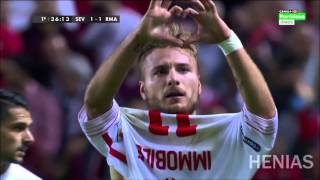 Sevilla vs Real Madrid 3-2 All Goals and Highlight | 08-11-15 HD