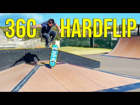 How Many 360 Hardflips Can I Land In A Row?