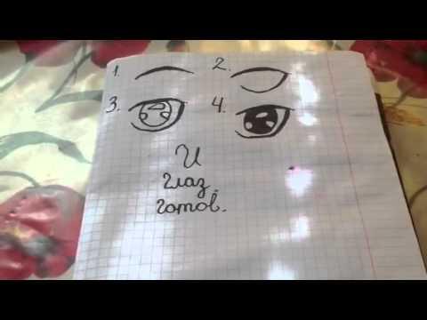 уроки рисования аниме девушек: