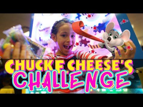 Desafío Chuck E Cheese El Reto de los 300 tickets