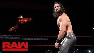 Seth Rollins vs. Curt Hawkins: Raw, June 26, 2017