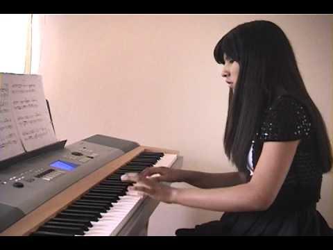 madelem pao ayala en piano cueca quejas del alma  folklore boliviano