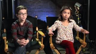 Daddy's Home: Scarlett Estevez & Owen Wilder Vaccaro Behind the Scenes Movie Interview