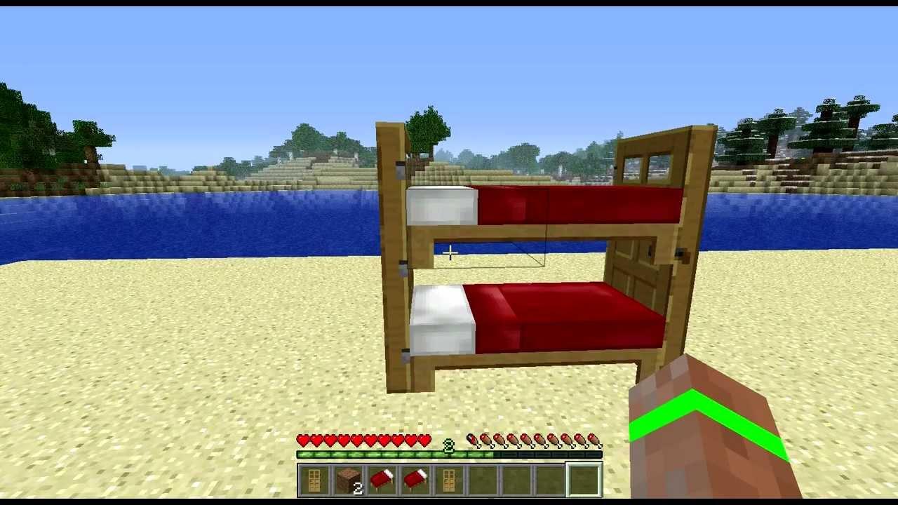 Tuto comment faire un lit superpos minecraft youtube - Comment fabriquer un lit superpose ...